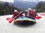 Ausflug 2015 - Rafting